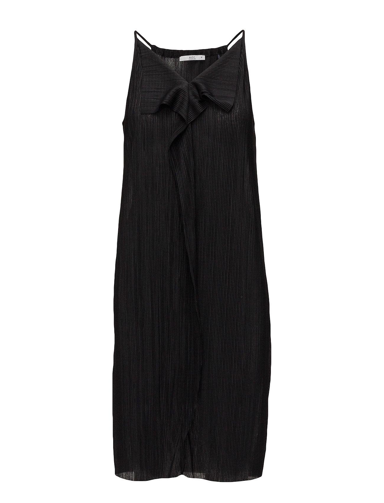 Dresses Knitted EDC by Esprit Kjoler til Kvinder i Sort