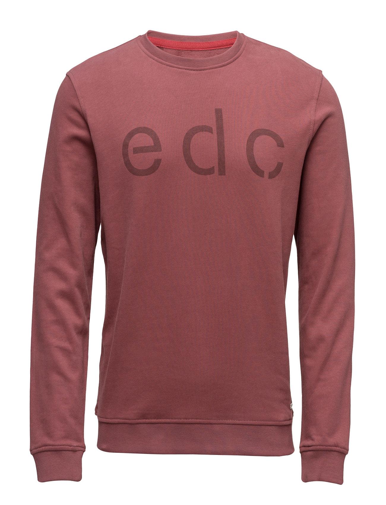 Sweatshirts EDC by Esprit Striktrøjer til Mænd i Rødme
