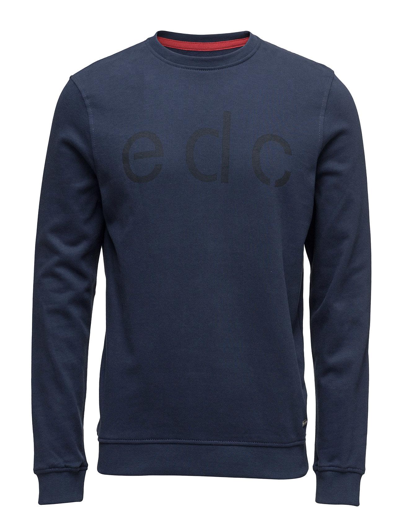 Sweatshirts EDC by Esprit Striktrøjer til Mænd i Navy blå