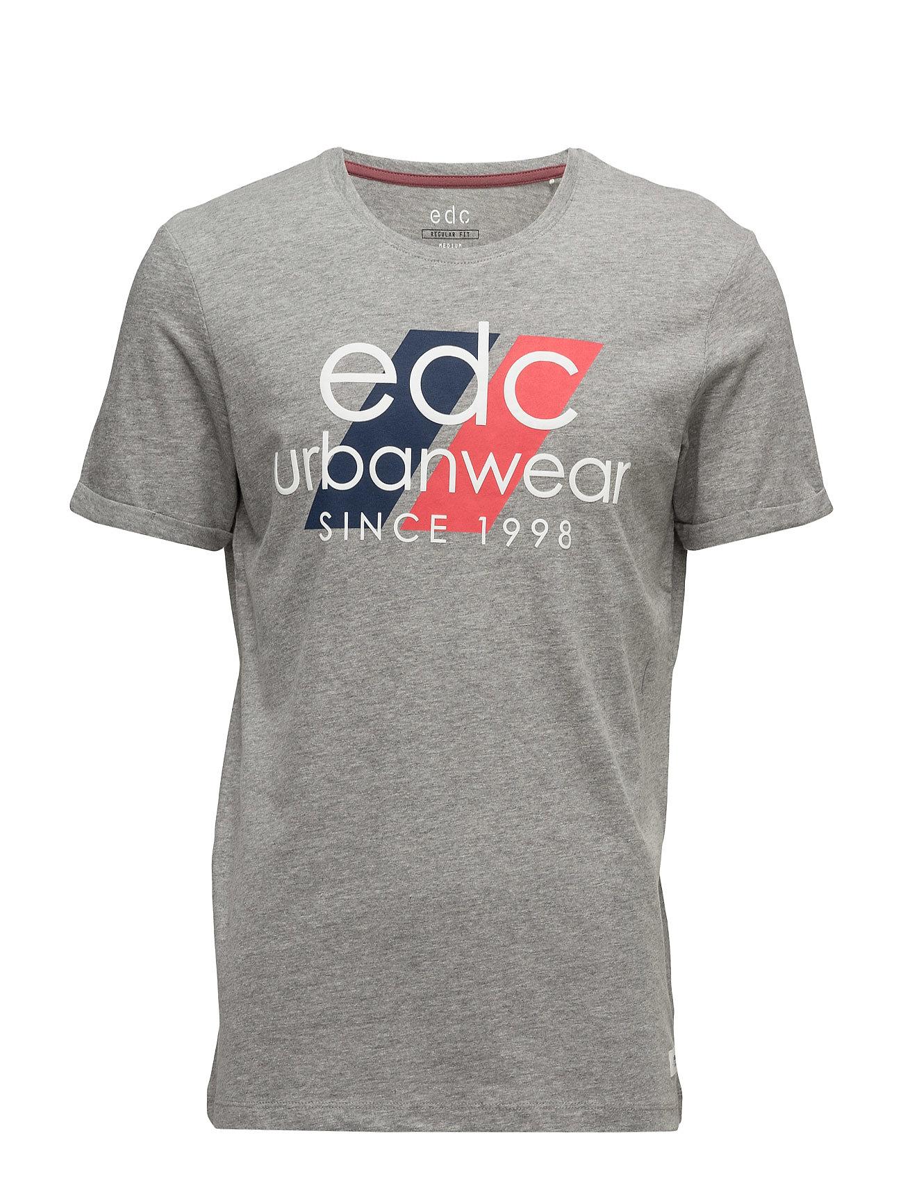 T-Shirts EDC by Esprit T-shirts til Mænd i Mellem grå