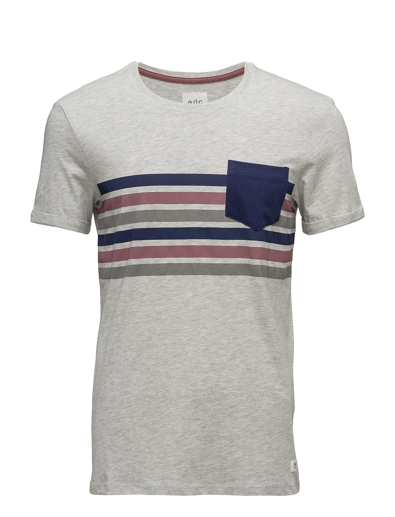 T-Shirts EDC by Esprit T-shirts til Mænd i Lysegrå