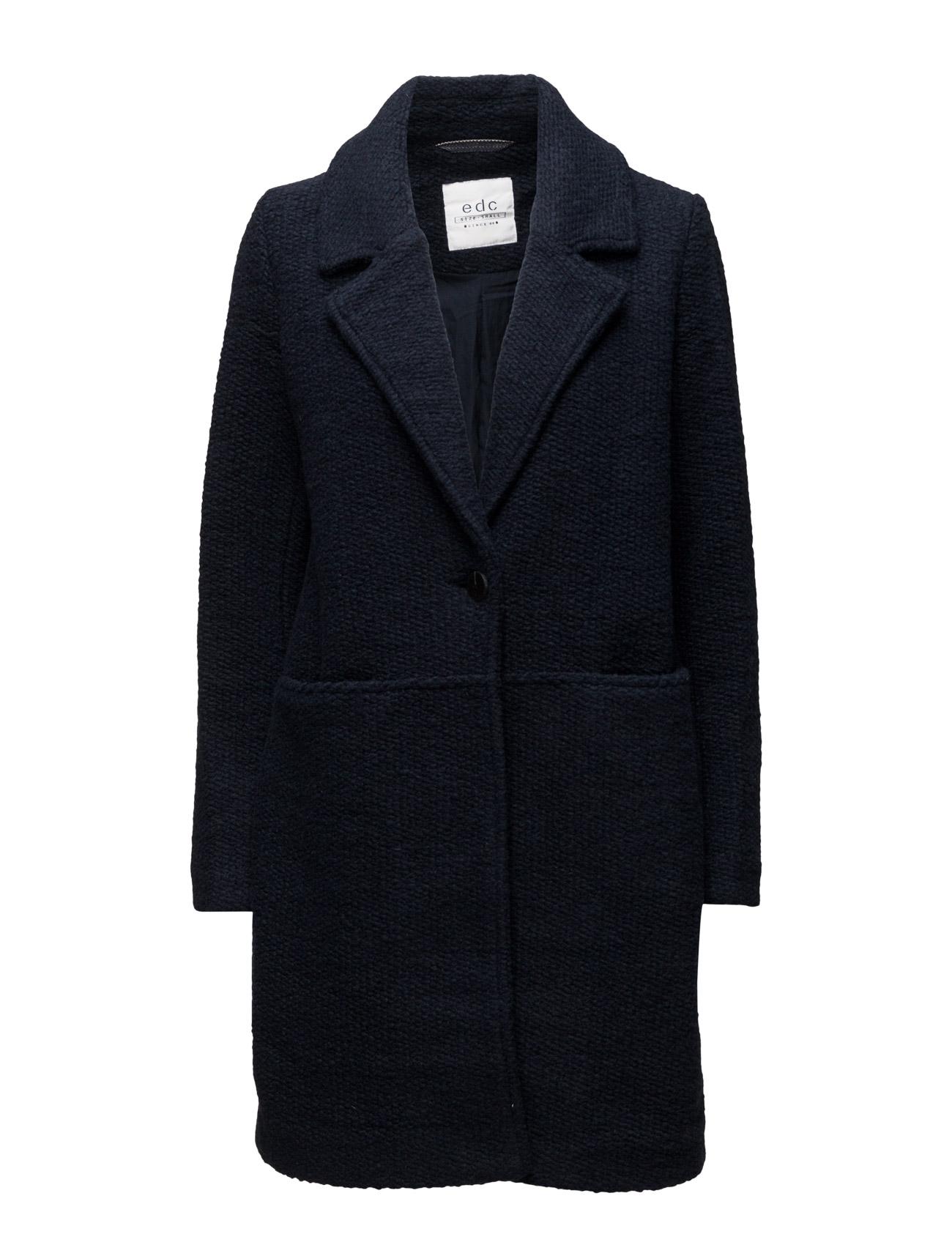 Coats Woven EDC by Esprit Frakker til Kvinder i Mørkegrå