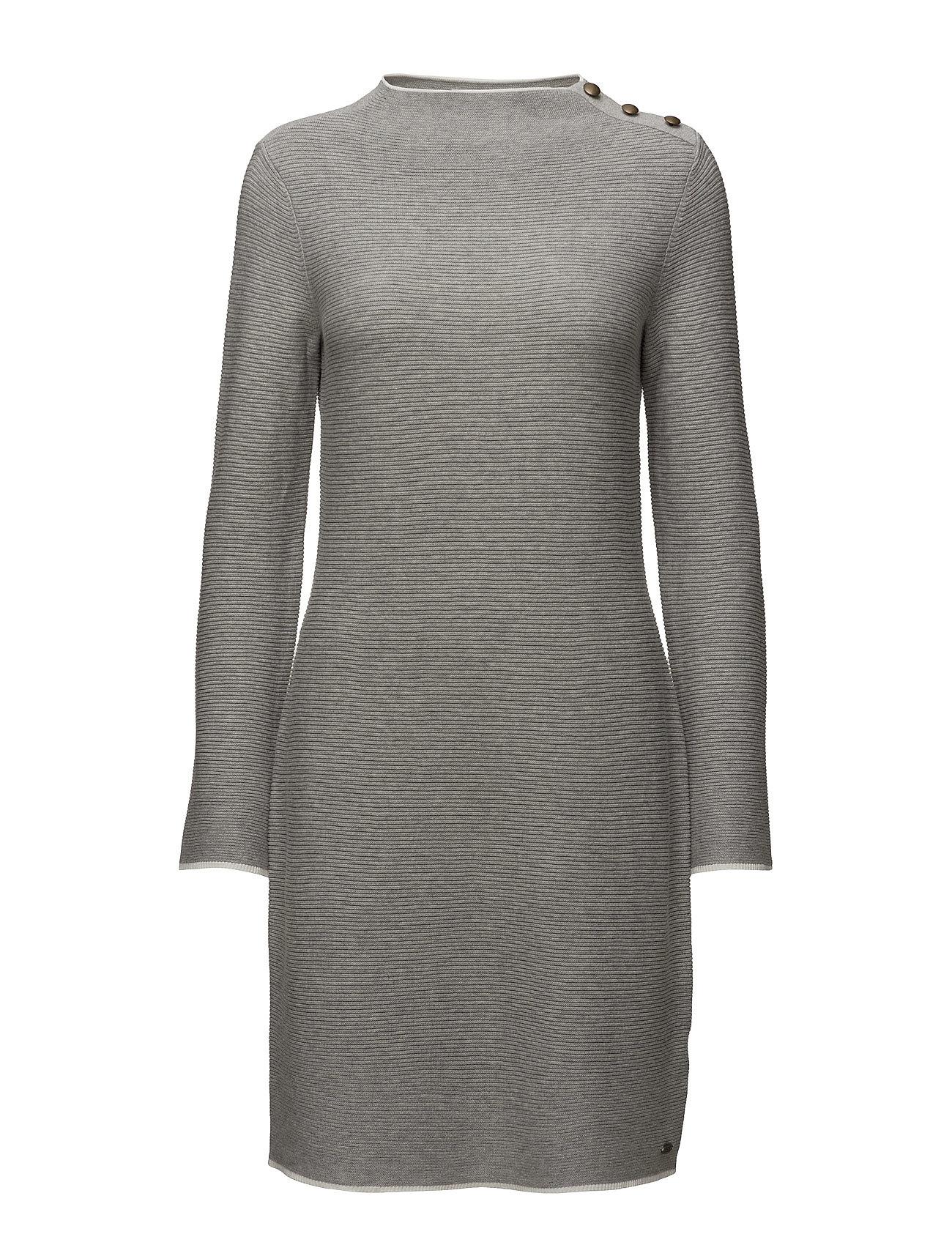 Dresses Flat Knitted EDC by Esprit Korte kjoler til Damer i Lysegrå