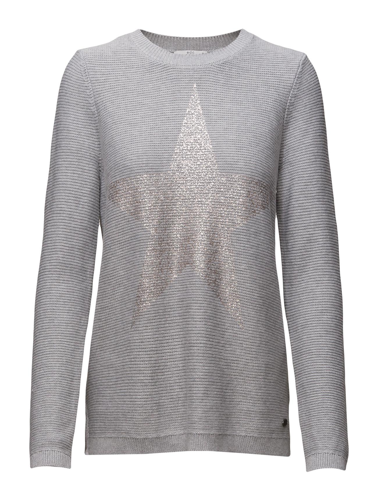 Sweaters EDC by Esprit Sweatshirts til Damer i Lysegrå