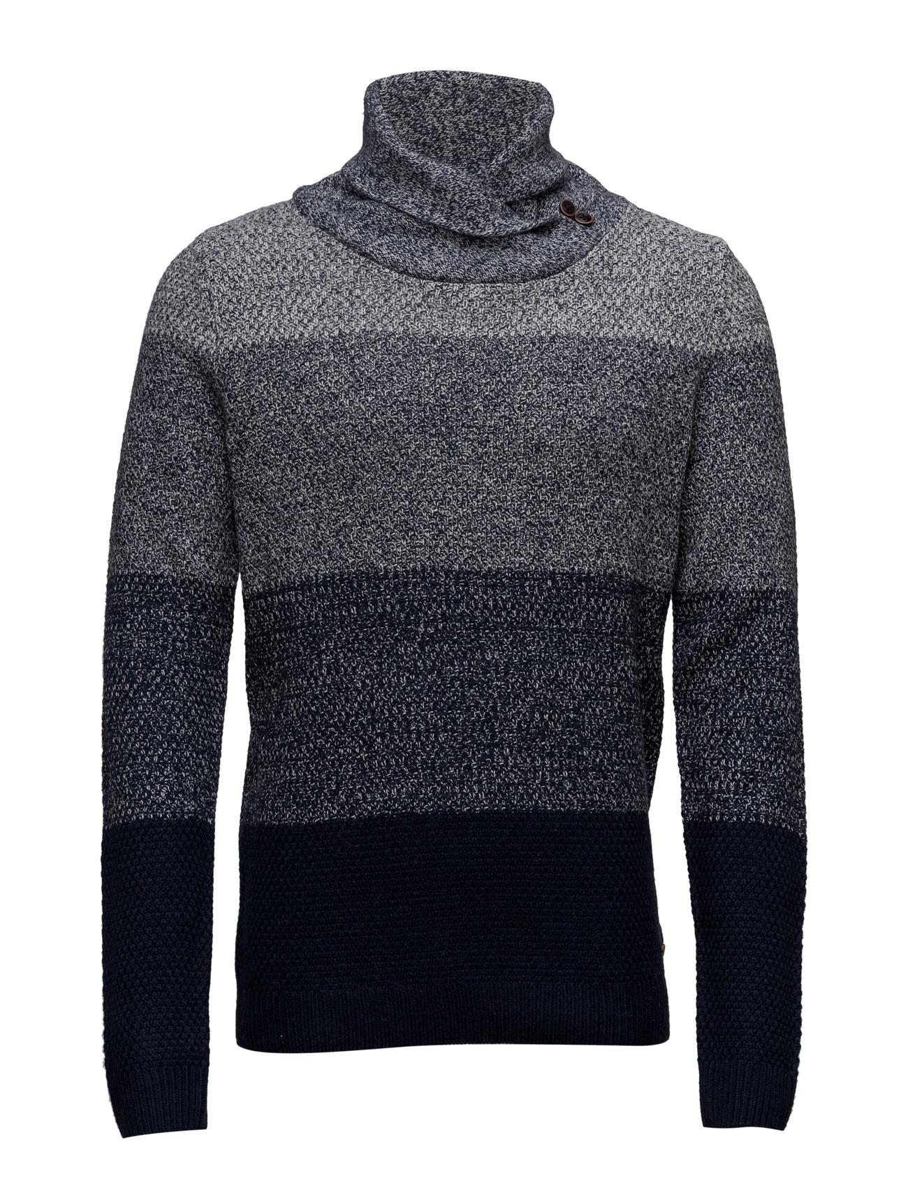 Sweaters EDC by Esprit Højhalsede til Herrer i Navy blå