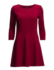 Dresses knitted - CW BRIGHT RED