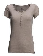 T-Shirts - BEIGE COLOURWAY