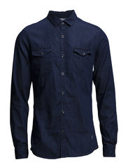 Shirts denim - C DARK STONE USED