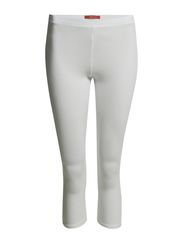 Pants knitted - WHITE