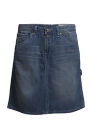 Skirts denim - C LIGHT BLUE TINTED