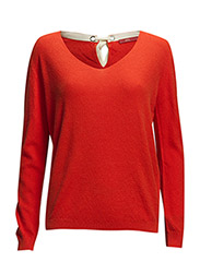 Sweaters - RED COLOURWAY