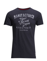 T-Shirts - DARK WASHED BLUE