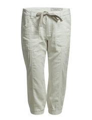 Pants woven - BROKEN WHITE