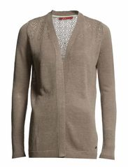 Sweaters cardigan - POWDER BEIGE
