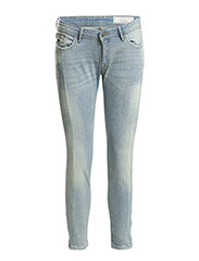 Pants denim - C LIGHT BLUE TINTED