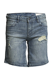 Shorts denim - C BLUE VISUAL