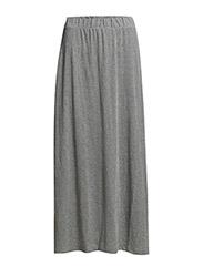 Skirts knitted - METAL GREY MELANGE