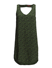 Dresses woven - GREEN COLOURWAY