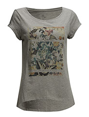 T-Shirts - LIGHT GREY MELANGE
