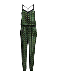 Overalls woven - GREEN COLOURWAY
