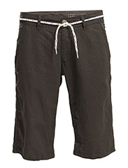 Shorts woven - LOUNGE BROWN