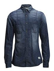 Shirts denim - C MEDIUM BLUE