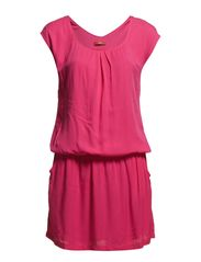 Dresses woven - BOOSTED PINK