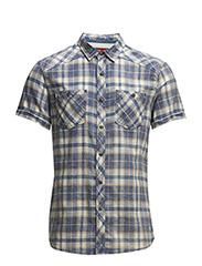 Shirts woven - INDIGO BLUE
