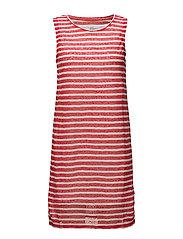 Dresses knitted - ORANGE RED