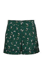 Shorts woven - DARK GREEN