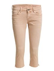 Pants woven - DUSTY NUDE