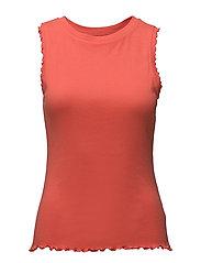 T-Shirts - CORAL ORANGE