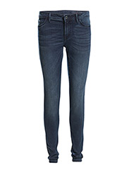 Tregging denim - BLUE DARK WASH
