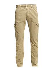 Pants woven - CAMEL
