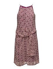 Dresses light woven - DARK PINK