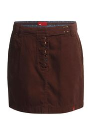 Skirts woven - BITTER CHOCOLATE