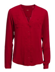 Blouses woven - RIBBON RED