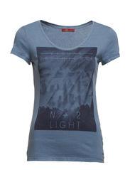 T-Shirts - BLISSFUL BLUE