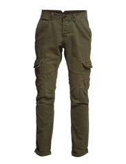 Pants woven - ROAD GREEN