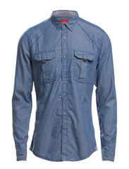 Shirts woven - VANCOUVER BLUE