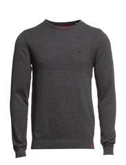 Sweaters - DARK GREY MELANGE
