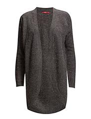 Sweaters cardigan - GUNMETAL