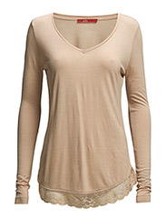 T-Shirts - DUSTY NUDE