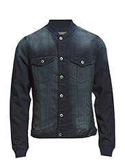 Jackets outdoor denim - BLUE DARK WASH