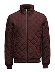 Jackets outdoor woven - BORDEAUX RED