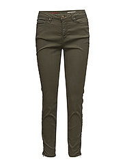 Pants woven - KHAKI GREEN