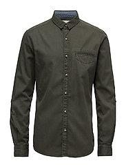 Shirts woven - KHAKI GREEN