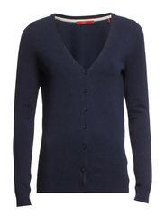 Sweaters cardigan - DEEP INDIGO MELANGE