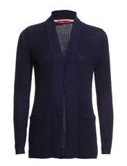Sweaters cardigan - DEEP INDIGO