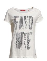 T-Shirts - IVORY CREAM